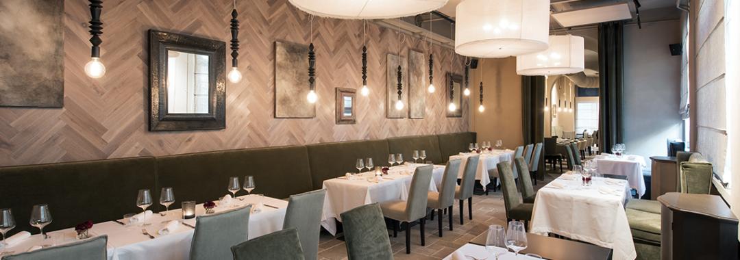 empty restaurant interior